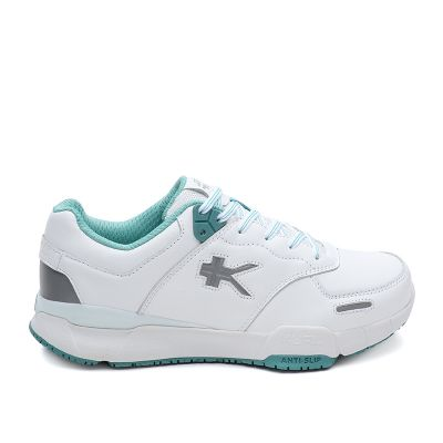 Kinetic Wide - Bright White & Teal Mist - 8.5