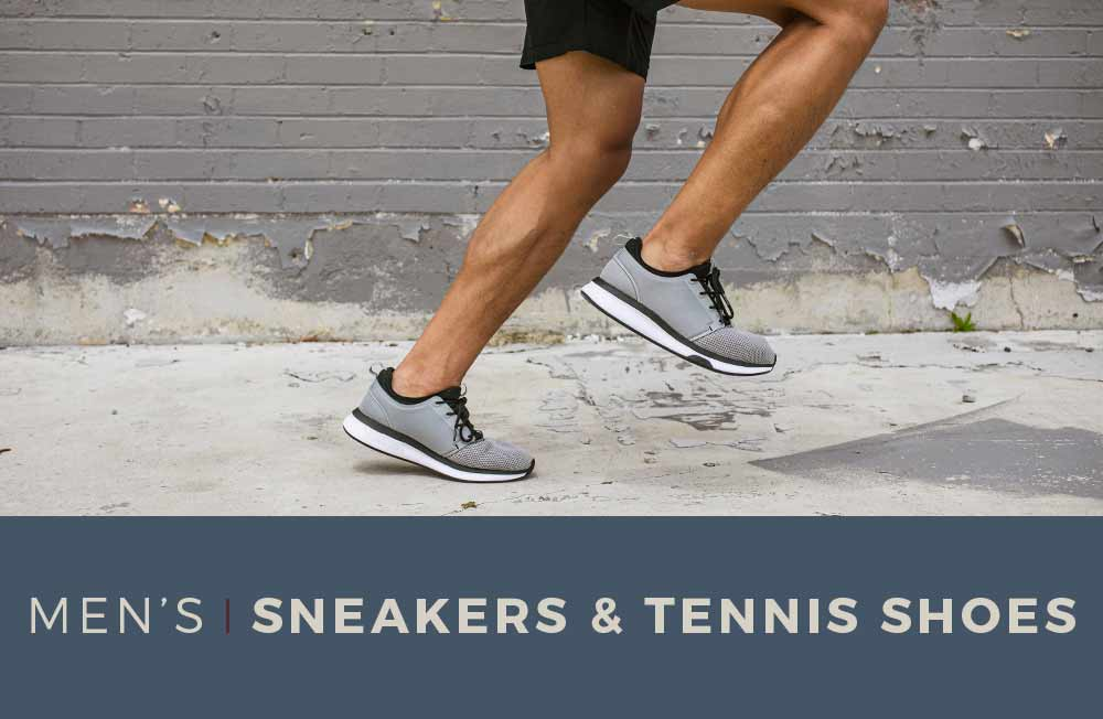 Category Banner - Men's Sneakers & Tennis Shoes